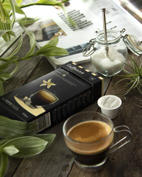 Caffesso Variations - Vanilla Espresso - Intensity 5